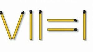 TEST de PERSPICACITATE: Mută un băţ şi rezolvă calculul