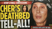 Cher, confesiuni şocante de pe patul de moarte!