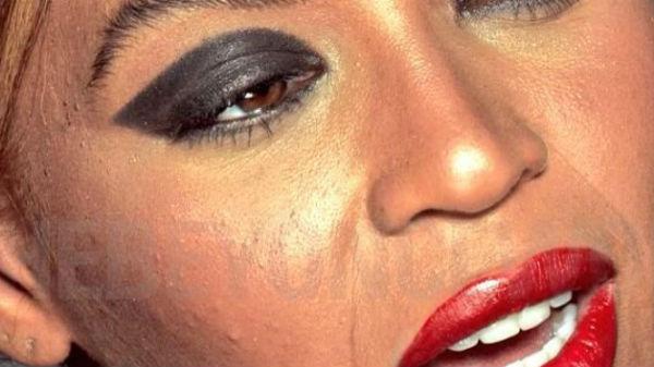 Beyonce arată horror! Imagini neretuşate cu diva au scăpat net şi au fost şterse rapid
