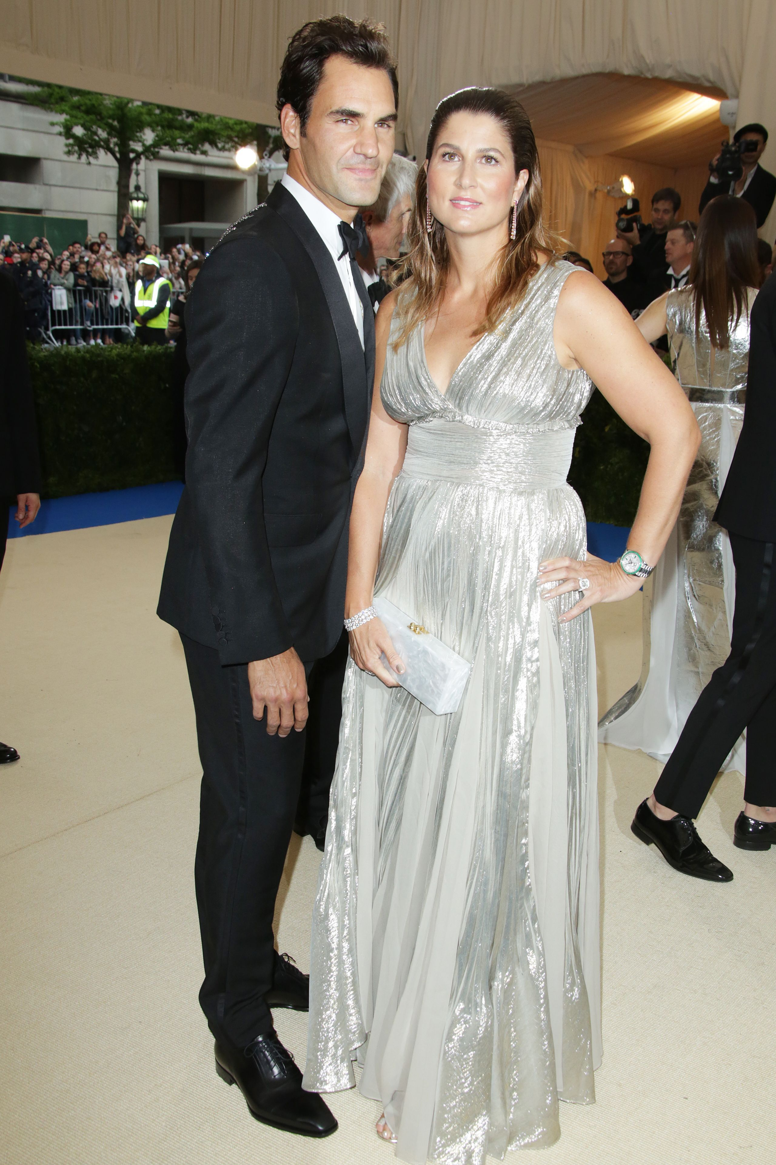 Mirka şi Roger Federer