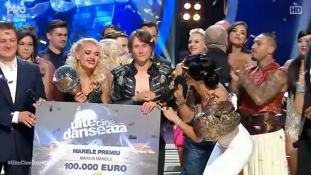 Marius Manole, câştigătorul