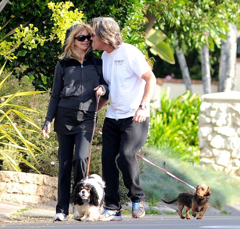 Goldie Hawn Kurt Russe...