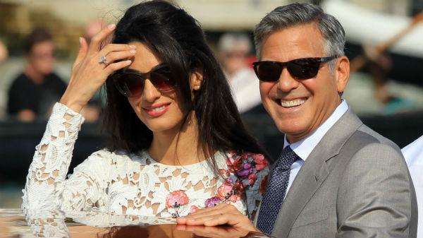 George Clooney şi Amal Alamuddin, nuntă în afara legii