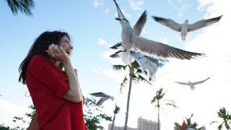 Anca Lungu, sexy în Bahamas - FOTO