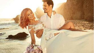 """Nunta Andreei Bălan, în imagini: """"Fericire, iubire şi împlinire"""". Primele declaraţii ale artistei"""