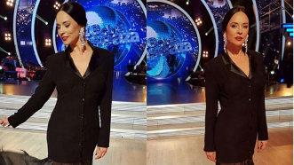 """""""Eşti foarte frumoasă, arăţi minunat!"""" Mihaela Rădulescu şi Andreea Marin, apariţii elegante la Uite cine dansează - FOTO"""