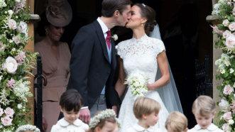 Nunta anului în imagini! Ce rochie a purtat  Pippa Middleton, sora Ducesei de Cambridge