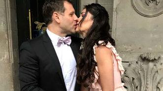 Alina Puşcaş s-a căsătorit - Imagini de la fericitul eveniment