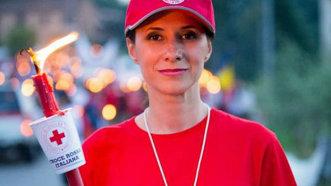 Iuliana Tudor, ambasador Crucea Roşie Română, experienţă inedită la Solferino
