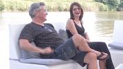 Premieră în showbiz: Dan Bittman şi iubita sa, Liliana, s-au afişat împreună la tv - FOTO