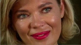 Gina Pistol, cu ochii în lacrimi la tv