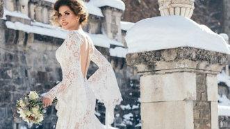 Carmen Brumă, în rochie de mireasă. Decorul e de vis! - FOTO
