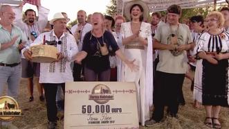 A câştigat Ferma vedetelor şi face nuntă cu premiul de 50.000 €