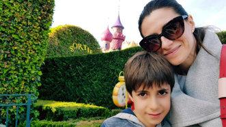 Fiul Iulianei Tudor are stofă de pilot - FOTO