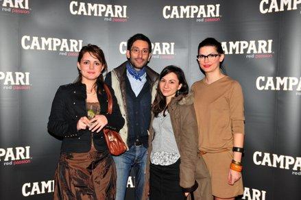 Vedete romanesti la evenimentul Campari de la CinemaPRO