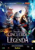 Cinci eroi de legenda 3D (subtitrat)