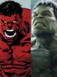 Hulk si Red Hulk se bat in