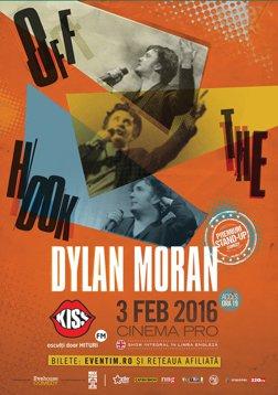 Dylan Moran revine la Bucuresti! OFF THE HOOK: un show de stand-up comedy 100% nou, in premiera in Romania, la CinemaPRO