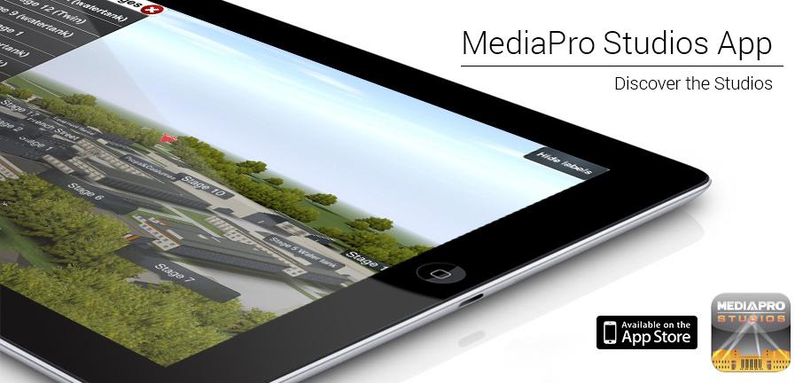 Aplicatia MediaPro Studios este online