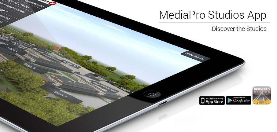New MediaPro Studios App