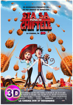 Film: Cloudy with a chance of meatballs (Sta sa ploua cu chiftele)