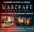 Warcraft: Inceputul 3D iti ofera gratuit acces la jocul World of Warcraft