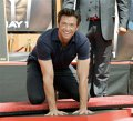 Hugh Jackman si-a lasat amprenta la Hollywood