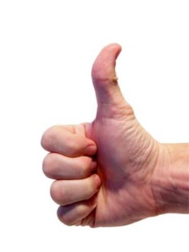 Degetul mare si forma penisului