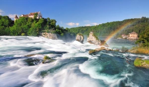 Rinul la Neuhausen şi cele mai mari cascade in Europa