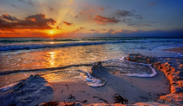 Fragment de plajă din Insula Niihau