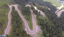 Cum arată TransRarăul, noua şosea montană. (Filmare Aeriană)