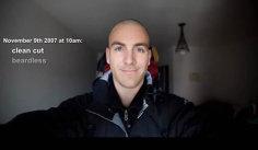 Cum s-a schimbat înfăţişarea unui bărbat care a mers pe jos mai mult de 4.500 de kilometri într-un an? (VIDEO time lapse)