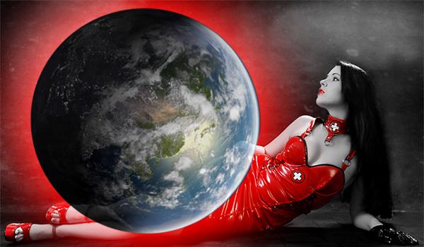 Lumea imbracata in Rosu (FOTO)