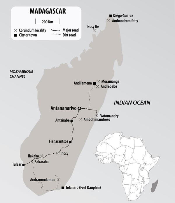 Madagascar Piatra Pretioasa De La Capatul Lumii