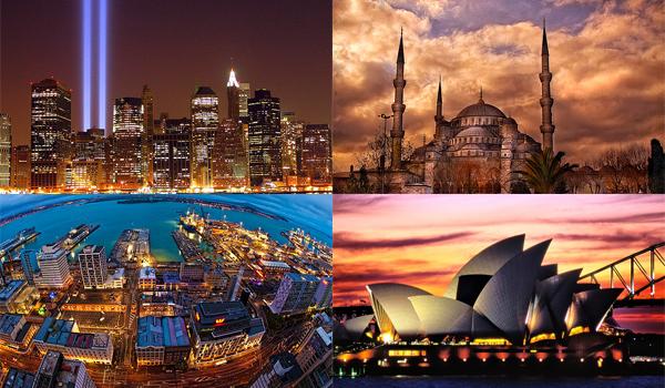 Nu o sa crezi, dar aceste 10 orase nu sunt capitale