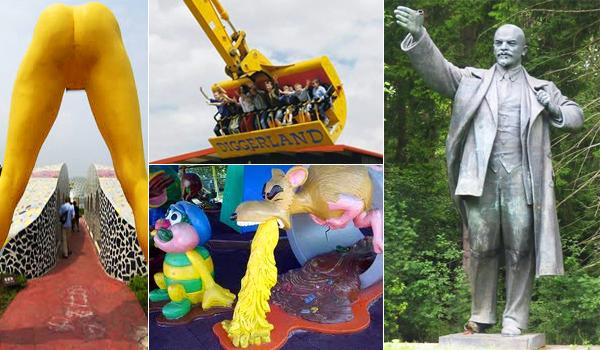 Cele mai nebunesti 10 parcuri tematice din lume