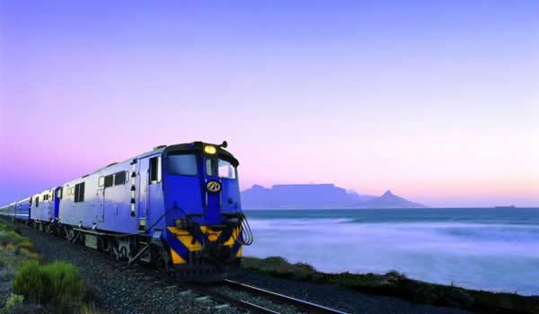 Cu Trenul Albastru pe intinderile Africii