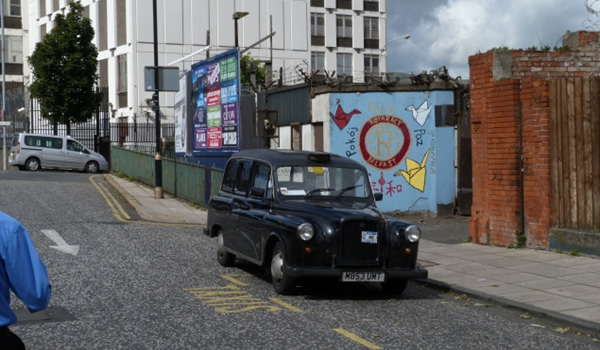 Belfast – pe urmele războiului într-un Black Taxi