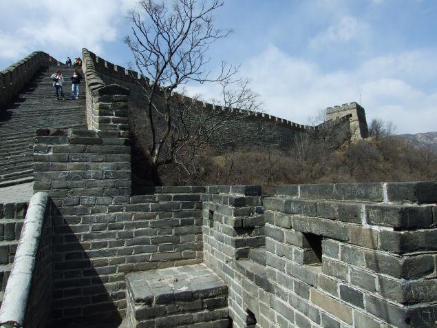 Poveşti chinezeşti: Marele Zid Chinezesc - sau cum să cobori pe tobogan de pe Mutianyu