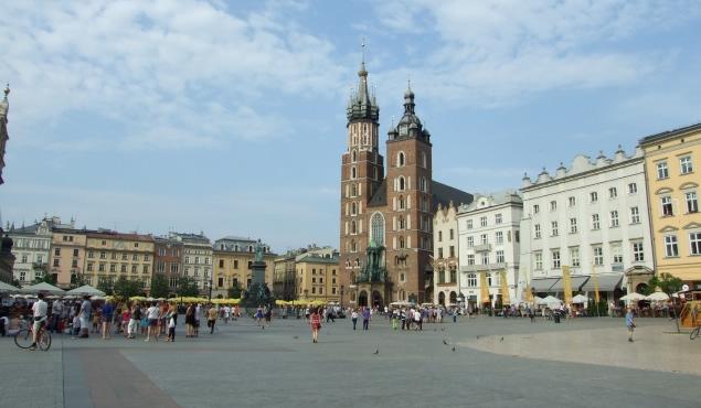 Cracovia din ţinutul balaurului: Wawel şi Oraşul Vechi