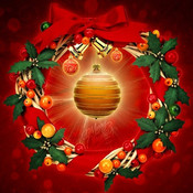 Christmas Wallpapers & Backgrounds with Xmas Glow Effects