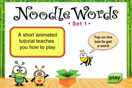 Noodle Words HD - Action Set 1