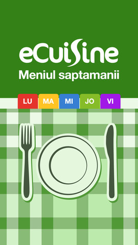 eCuisine - Meniul Saptamanii