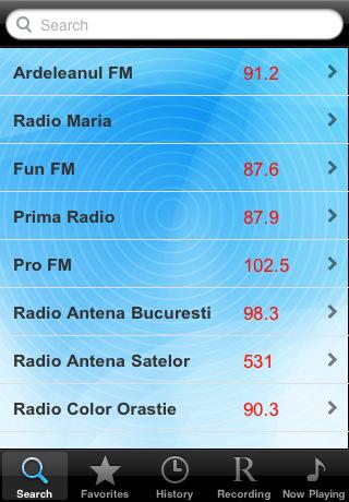 Radio Romania - Alarm Clock + Recording / Radioul România - Ceas-Alarmã + Înregistrare