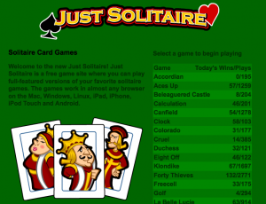 Just Solitaire