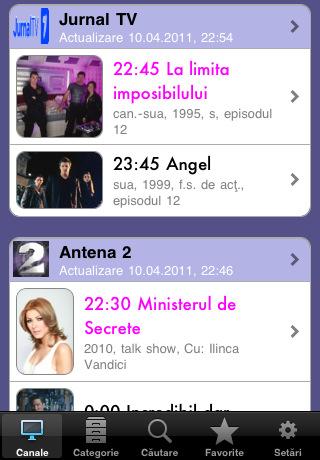 Romanian TV Guide