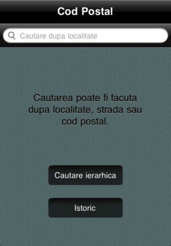 Cod Postal