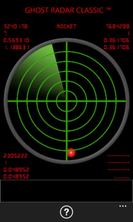 Ghost Radar Classic