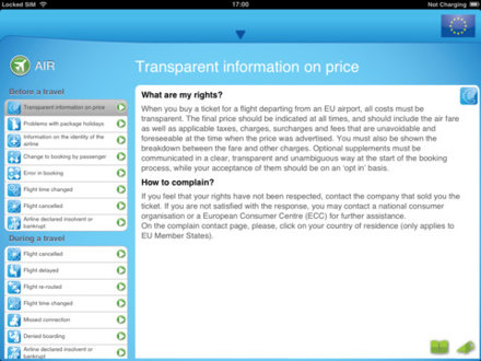 Your Passenger Rights for iPad