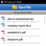eZReader DOC PDF Lite
